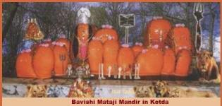 Bavishi Mataji Mandir in Kotda Gujarat India