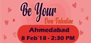 Be Your Own Valentine Event 2018 in Ahmedabad Date and Venue Details