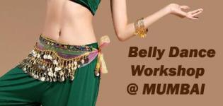 Belly Dance Workshop 2017 in Mumbai India at Sculptasse