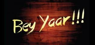 Bey Yaar Gujarati Movie Release Date 2014 - Bey Yaar Dhollywood Film Release Date