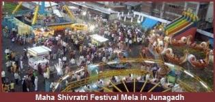 Bhavnath Fair Junagadh - Maha Shivratri Festival Mela in Gujarat India