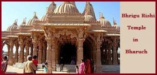 Bhrigu Rishi Temple in Bharuch Gujarat - Location History of Bhrigu Rishi Temple