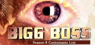 Bigg Boss Season 8 Contestants List - Bigg Boss 8 Participants Final Names 2014