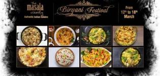 Biryani Festival 2018 in Ahmedabad at The Masala County Restaurant - Date and Details
