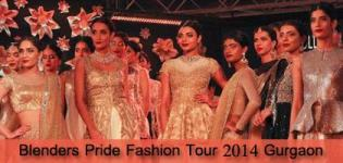 Blenders Pride Fashion Tour 2014 Gurgaon - Latest Photos of Models on RAMP