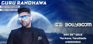 Bollyboom Presents Guru Randhawa Live Concert in Ahmedabad at Arena Transstadia