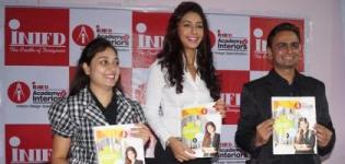 Bollywood Actress Mahek Chahal in Rajkot Gujarat for INIFD Interior Course Launching Event