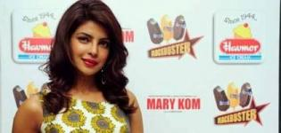 Bollywood Actress Priyanka Chopra in Ahmedabad for HAVMORE Ice Cream Plant Visit August 2014