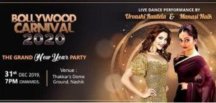 Bollywood Carnival 2020 in Nashik with Urvashi Rautela & Manasi Naik on 31st December