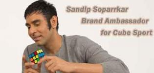 Bollywood Choreographer Sandip Soparrkar Announced as Brand Ambassador for Cube Sport