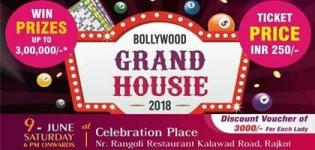 Bollywood Grand Housie 2018 Event for You in Rajkot Date and Venue Details