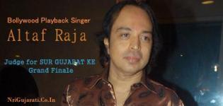 Bollywood Playback Singer ALTAF RAJA in Gandhidham as Judge of SUR GUJARAT KE 2015 Grand Finale