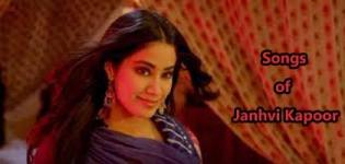 Bollywood Songs of Beautiful Actress Janhvi Kapoor from her Debut Film Dhadak
