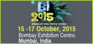 Broadcast India Show Mumbai India by Saicom Trade Fairs & Exhibitions Pvt Ltd on October 2015