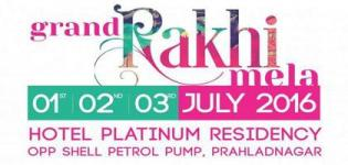 Bullmark Events Presents Grand Rakhi Mela 2016 in Ahmedabad from 1st to 3rd July