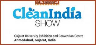 CLEAN INDIA SHOW 2014 in Ahmedabad Gujarat from 27 to 29 November 2014
