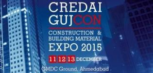CREDAI GUJCON 2015 - Construction & Building Material Expo in Ahmedabad at GMDC Ground