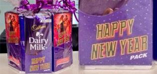 Cadbury Dairy Milk Diwali Gift Chocolate HAPPY NEW YEAR PACK Launched - 2014 New Ad