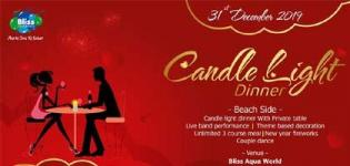 Candle Light Dinner - 31st December 2019 Party in Mehsana at Bliss Aqua World