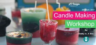 Candle Making Workshop 2017 in Ahmedabad at PH Designs Date and Details