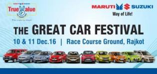Car Festival 2016 in Rajkot at Race Course Ground by Maruti Suzuki