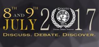 Ccogito Model United Nations Conference (CMUN) 2017 in Surat at Tapti Valley International School