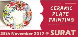 Ceramic Plate Painting Event 2017 in Surat - Date and Venue Details