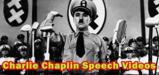 Charlie Chaplin The Great Dictator Speech with Subtitle Videos