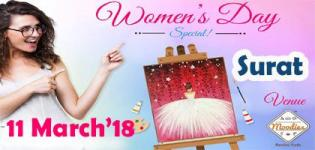 Cheers to Womanhood Paint Party Surat 2018 - Event Date and Venue Details