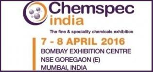 Chemspec India 2016 in Mumbai - Fine & Specialty Chemicals Exhibition in India