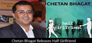 Chetan Bhagat Launches Half Girlfriend Book - Latest Book Release Event 2014