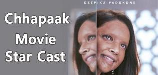 Chhapaak Movie 2020 - Release Date and Star Cast Crew Details