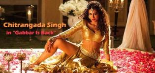 Chitrangada Singh in Golden Colour Lehenga Choli in Gabbar Is Back - Latest Hot Pics/Item Song Photos