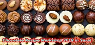 Chocolate Recipe Learning Workshop 2018 in Surat at Swad Cooking Institute