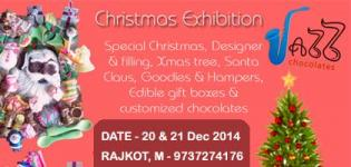 Christmas Exhibition - Special Ideas for Homemade Colourful Chocolate Decoration by JAZZ CHOCOLATES