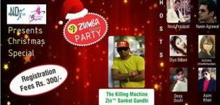 Christmas Zumba Party 2016 in Ahmedabad at Hello City The Wellness Club