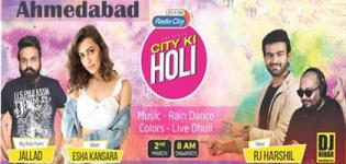 City Ki Holi 2018 Event - Montecristo Banquet at Ahmedabad Date and Venue Detail