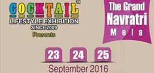Cocktail Lifestyle Exhibition 2016 in Ahmedabad The Grand Navratri Mela at Seema Hall