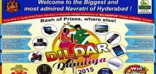 Coconut Event Ahmedabad Presents Dildar Dandiya Navratri Mahotsav 2015 in Hyderabad