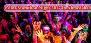 Color Marathon Night 2017 in Ahmedabad Gujarat - Date - Route Details