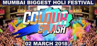 Colour Splash 2018 in Mumbai - Biggest Holi Festival at Maitri Lawn