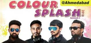Colour Splash 2018 Season 1 Holi Event in Ahmedabad at Radhika Party Plot