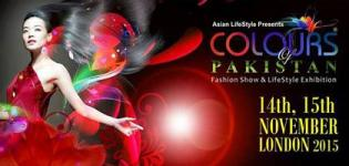 Colours of Pakistan Expo 2015 in UK - Fashion Show and Life Style Exhibition at London