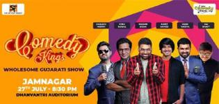 Comedy Kings in Jamnagar - Wholesome Gujarati Show 2019 at Dhanvantri Auditorium