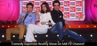 Comedy Superstar Reality Show on SAB TV Channel and Judges Name