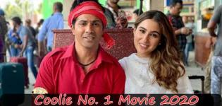 Coolie No. 1 Movie 2020 - Release Date and Star Cast Crew Details