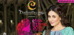 Craftsvilla Miss Ethnic Contest 2015 India endorse by Kareena Kapoor Khan