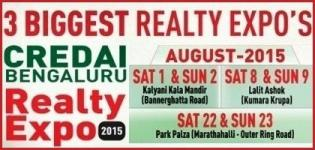 Credai Bengaluru Realty Expo 2015 in Bengaluru India on August 2015