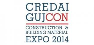 Credai Gujcon Construction & Building Material Expo 2014 in Ahmedabad Gujarat India