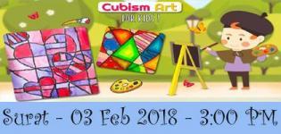Cubism Art for Kids Surat Event for Painting Art and Techniques Details 2018